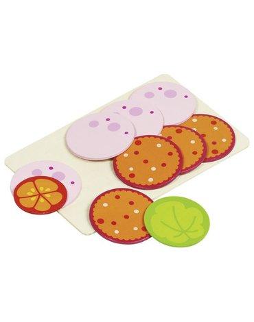 Goki® - Wędlina na desce - jedzenie na kanapki