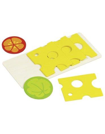 Goki® - Ser na desce - żywność do krojenia na kanapki