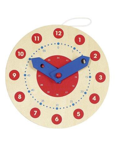 Goki® - Zegar drewniany do nauki godzin