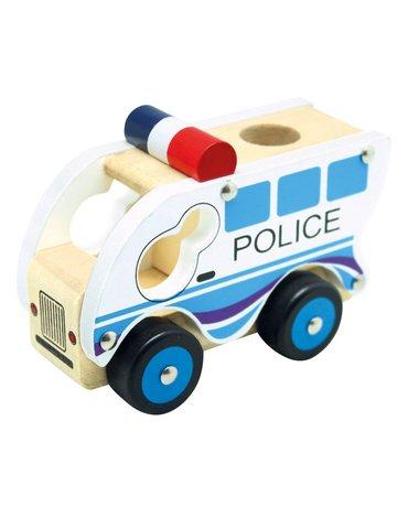 Bino - Autko drewniane - Policja