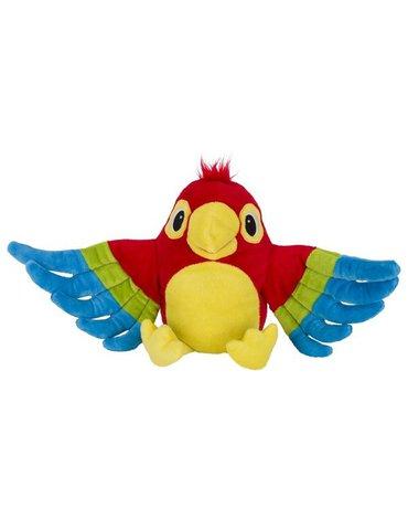 Peggy Diggledey - Pluszowa pacynka papuga Pelle