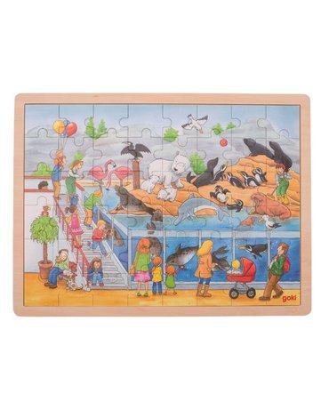 Goki® - Duże puzzle wizyta w ZOO