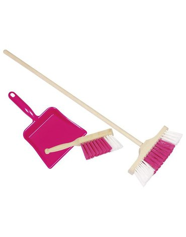 Goki® - Zestaw do sprzątania różowy