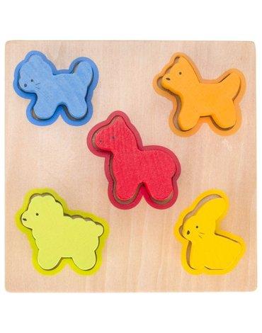 Goki® - Goki mała układanka ze zwierzętami