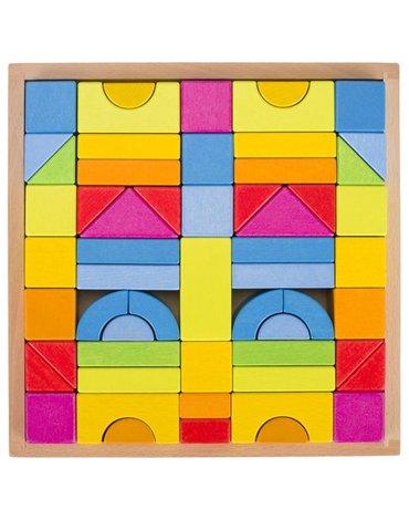 Goki® - Klocki konstrukcyjne Rainbow