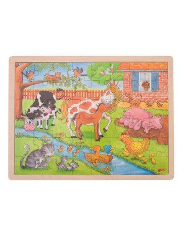 Goki® - Puzzle duże Życie na wsi