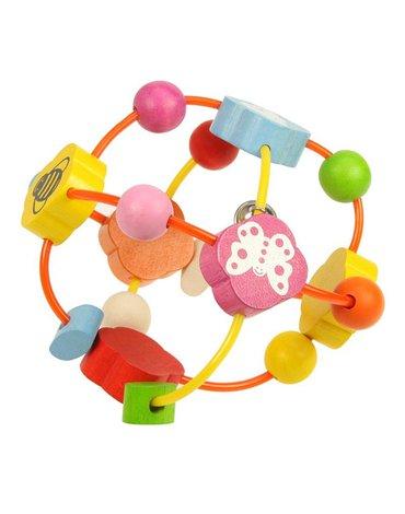 BabyBigjigs - Piłeczka elastyczna z koralikami