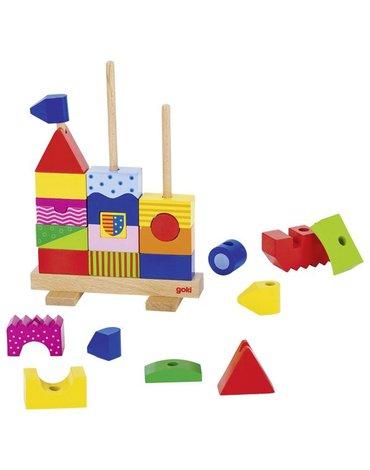 Goki® - Zamek  do układania na palikach