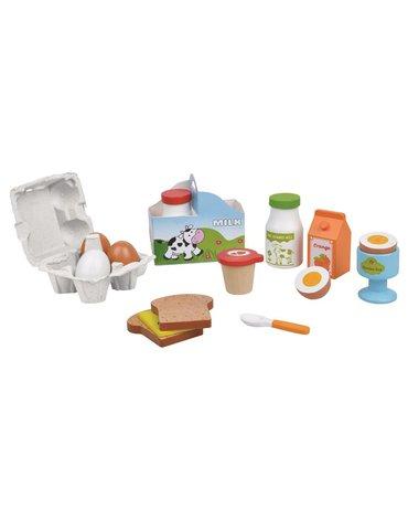 Lelin - Zabawka drewniana - Śniadanie