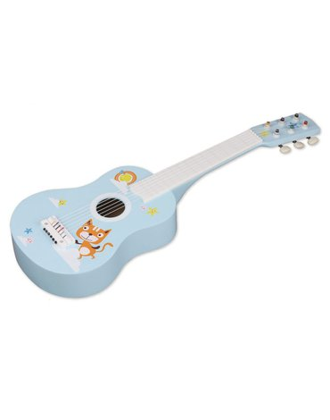 Nefere - Gitara drewniana z kotkiem