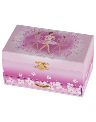 Goki® - Goki pudełko z szufladkami kwiatowa balerina