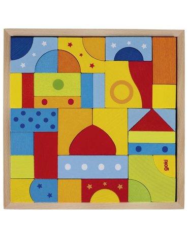 Goki® - Mozaika kolorowa Goki