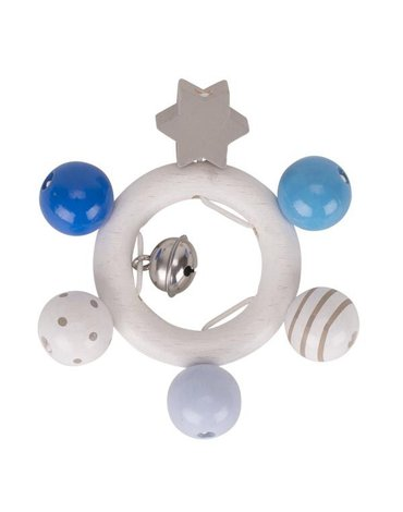 Heimess - Pierścień dotykowy szaro-niebieski