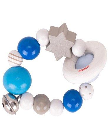 Heimess - Pierścień elastyczny szaro-niebieski