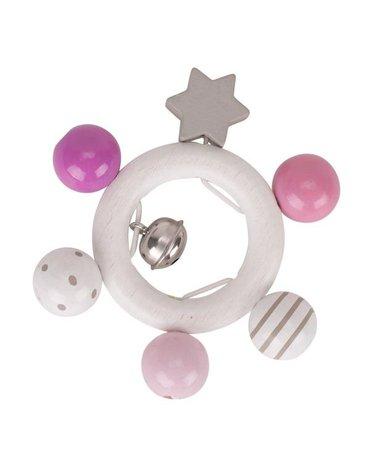 Heimess - Pierścień dotykowy różowy