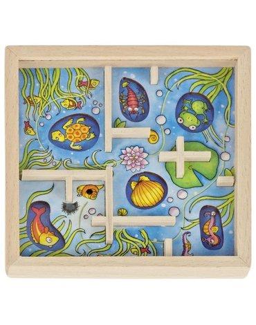 Goki - Gra zręcznościowa labirynt pod wodą