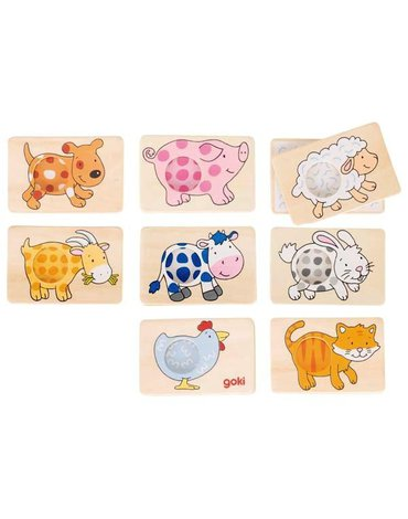 Goki - Memo zwierzęce motywy