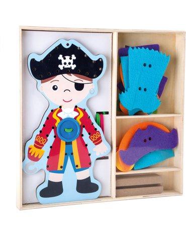 Sfd - Pirat do ubierania - sznurowanka