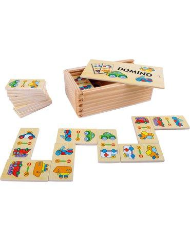 Sfd - Domino drewniane obrazkowe - Pojazdy
