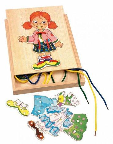 Woody - Sznurowanka do ubierania Monika