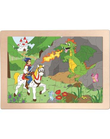 Woody - Puzzle Smok wawelski