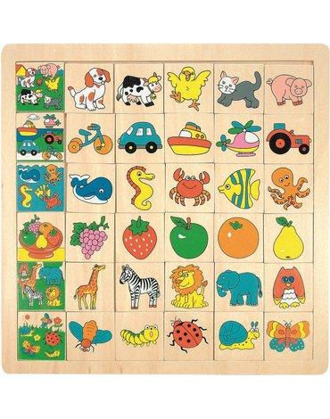Woody - Puzzle dopasuj obrazek