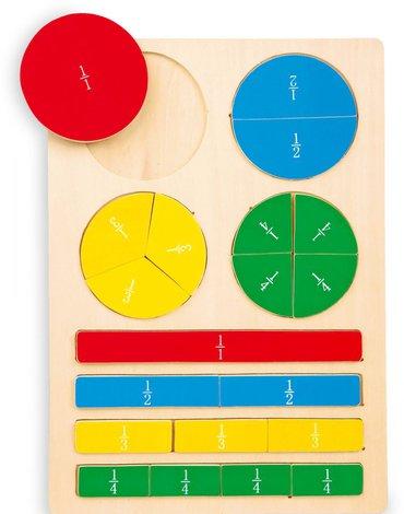Sfd - Puzzle ułamki - pomoc dydaktyczna dla dzieci