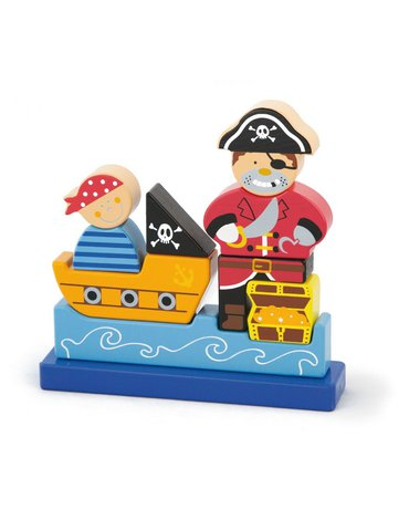 Viga - Klocki magnetyczne Pirat