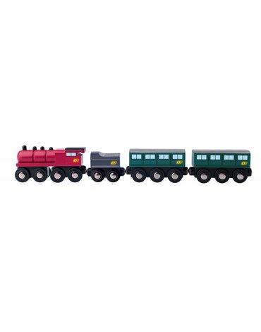 Woody - Pociąg pasażerski kolejka drewniana Orient Express