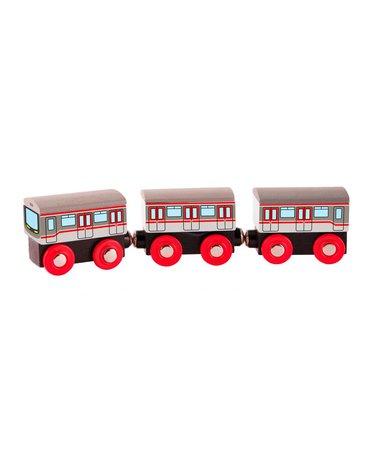 Woody - Pociąg Metro - kolejka drewniana