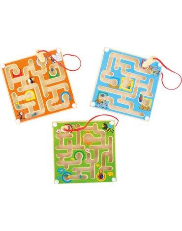 Woody - Magnetyczny labirynt 3 wzory