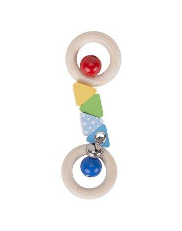 Heimess - Grzechotka podwójny ring confetti
