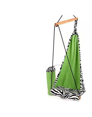 Amazonas - Bujany fotel - huśtawka dla dzieci zebra