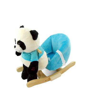 Nefere - Panda na biegunach z niebieskim fotelikiem - nowa konstrukcja