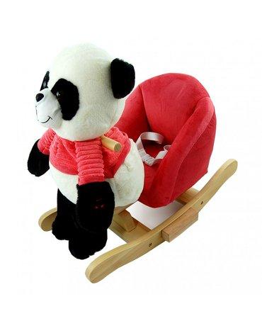 Nefere - Panda na biegunach z różowym fotelikiem - nowa konstrukcja
