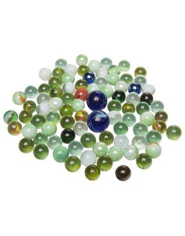 Goki® - Szklaki Marbles - Szklane kulki 88 szt.