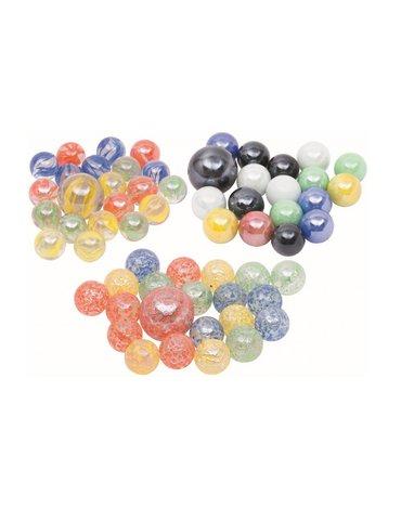 Goki® - Szklaki Szklane kulki 21 szt. - Marbles