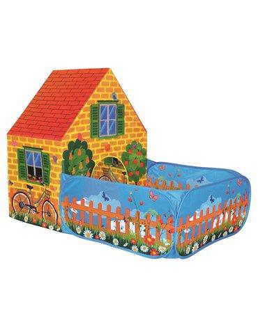 Bino - Namiot domek z płotkiem