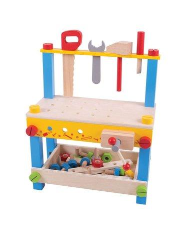 Bigjigs - Warsztat z narzędziami i śrubkami