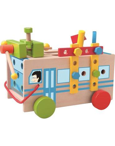 Woody - Autobus do skręcania ze śrubkami