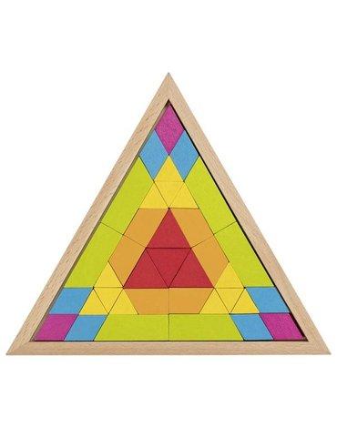 Goki® - Układanka mozaika trójkąt