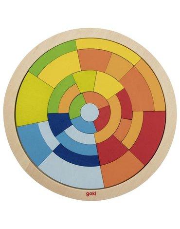 Goki® - Układanka okrągła mozaika
