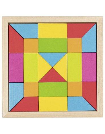 Goki® - Puzzle mozaika tęczowa