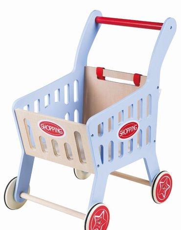 Lelin - Wózek sklepowy - pchacz