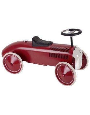 Goki® - Jeździk wyścigowy czerwony Chrome