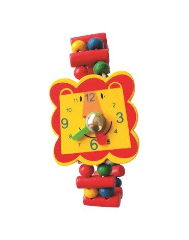 Bino - Zegarek drewniany z lwem