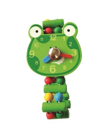 Bino - Zegarek drewniany z żabką