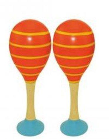 Woody - Pomarańczowe marakasy 2 sztuki