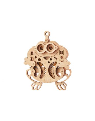 Wood Trick - WoodTrick Puzzle mechaniczne żabka