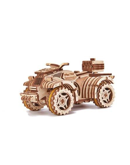 Wood Trick - Puzzle mechaniczne quad